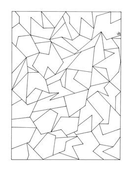 Coloring Quadrilaterals by Identifying Polygons Coloring Activity Math Geometry Pdf