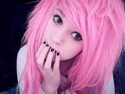 Pink Hair Pretty Animated Favim Inspiring
