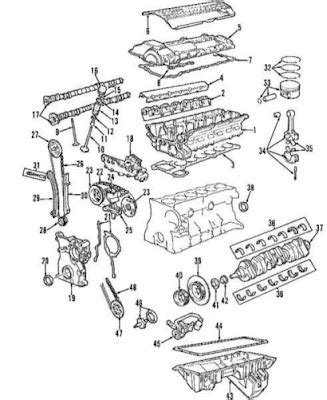 2001 Bmw 325i Engine Component Diagram by Bmw E 46 Models Parts Basic For Model M3 Smg