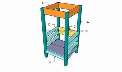 Tower Learning Plans Building Diy Toddler Step