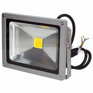 Projecteur Led 12v : projecteur led 20w 12 24v blanc neutre ip65 ext rieur 39 ~ Edinachiropracticcenter.com Idées de Décoration