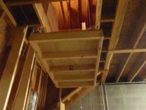 garage hoist lift youtube garage hoist garage attic