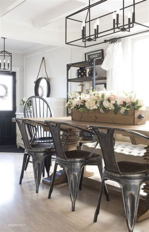 modern farmhouse dining room decorating ideas