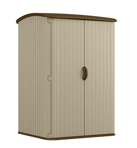 rubbermaid storage sheds at sears craftsman cbms6300 6 8 quot x 2 9 75 quot resin storage