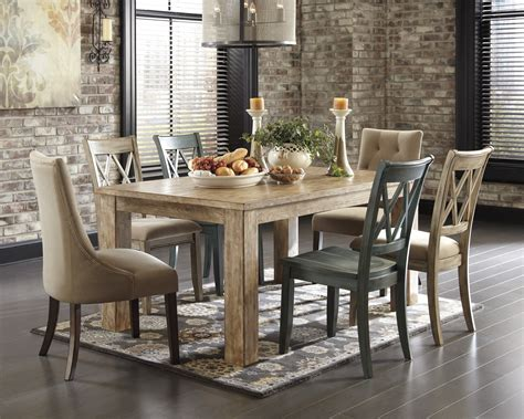 ashley mestler dining table buy mestler rectangular dining room table by signature