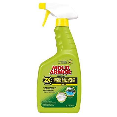 bathroom window blinds mold armor 32 oz instant mold and mildew stain remover