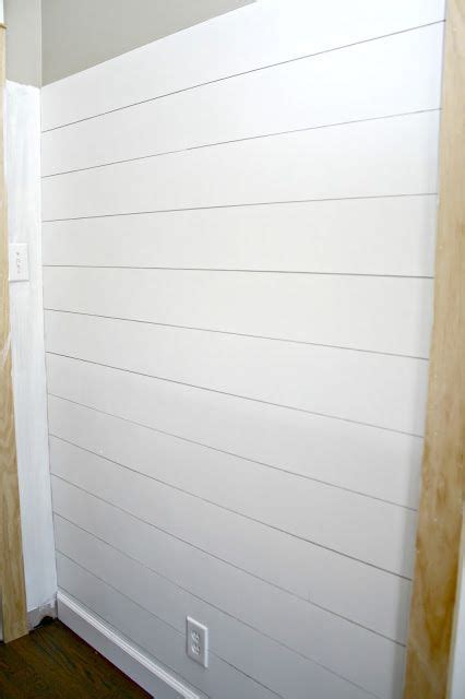 Where Do I Find Shiplap by How To Add The Shiplap Look To Your Home For A Lot Less