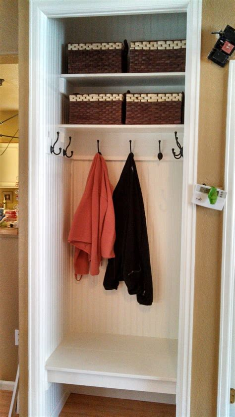 Entry Closet Organization Ideas by The Sson Home Entryway Closet Makeover Entryway