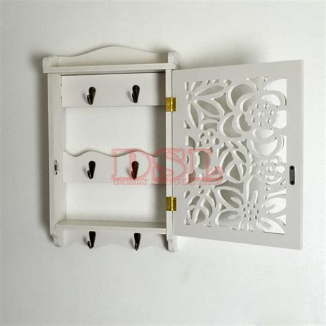 diy wall mounted filigree key box brackets cupboard hooks
