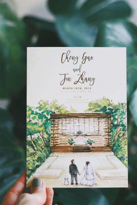 Rustic and Whimsical Watercolor Invitation: Story Book