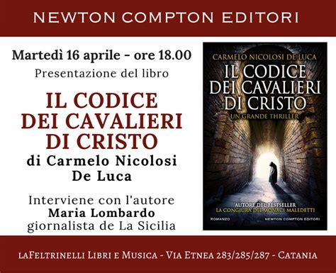 libreria catania via etnea il codice dei cavalieri di cristo marted 236 16 aprile