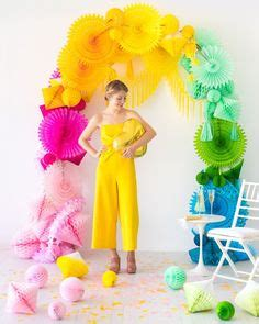 paper party decoration ideas images paper party