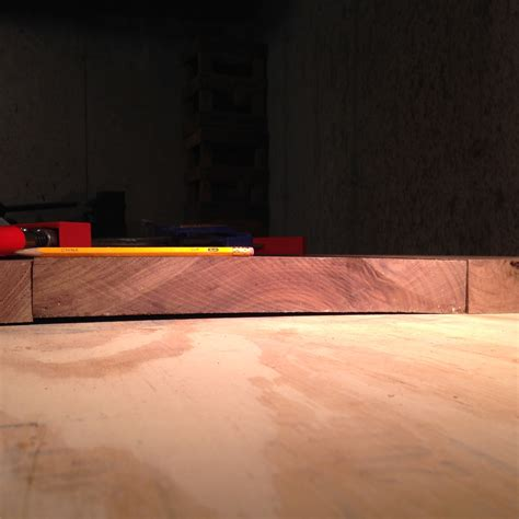gluing  slightly warped boards woodworking