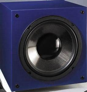 Monacor Subwoofer Speakers Box Enclosure Design