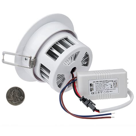 5 watt led recessed light fixture aimable recessed led