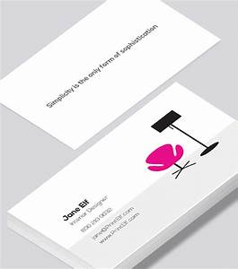 Interior designer business card - Modern Design