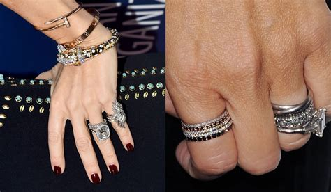 the best celebrity engagement rings the bigger the better