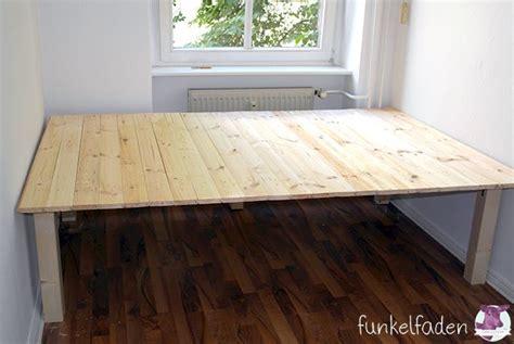 Bett Bauen Holz Einfaches Bett Aus Holz Bauen Diy Anleitungen Tutorials