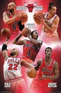 Derrick Rose Carlos Boozer Taj Gibson Jimmy Butler Chicago ...