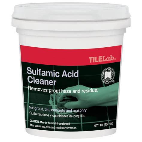 Tilelab Grout And Tile Concentrated Cleaner by Custom Building Products Tilelab 1 Lb Sulfamic Acid