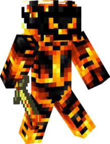 Fire Demon Minecraft Skin