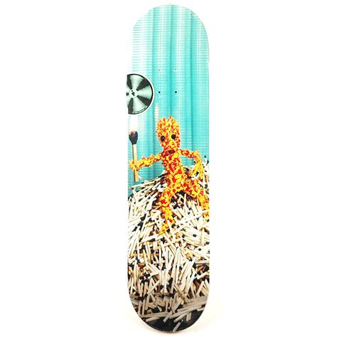 Zero Blood Deck by Alien Workshop Icon Match Man Deck 8 25 Forty Two
