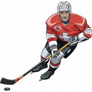 Hockey Player | Free Images at Clker.com - vector clip art ...