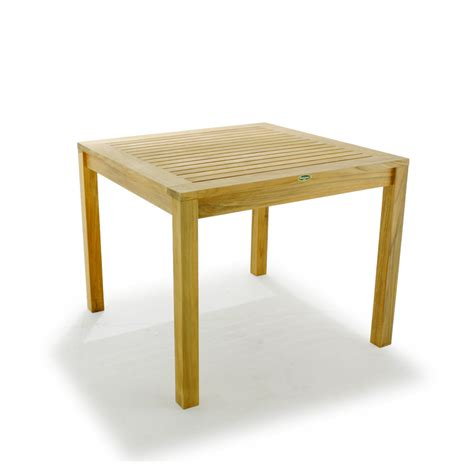 teak bistro table and chairs shop all things cedar 3