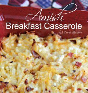 different types of casseroles amish style breakfast casserole different types of bacon and style