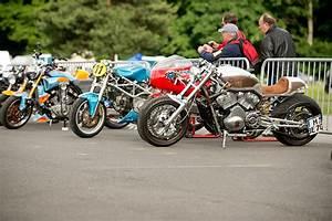 Suzuki Montlhery : dr mechanik at the caf racer festival with the harley davidson v rod ~ Gottalentnigeria.com Avis de Voitures