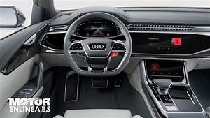 Audi Q8 Interieur : audi q8 concept interior youtube ~ Medecine-chirurgie-esthetiques.com Avis de Voitures