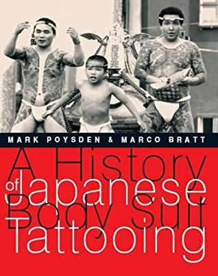 history  japanese body suit tattooing  mark poysden