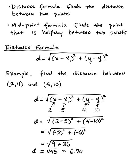 How To Do Simple Radical Form by Distance Formula Learning Algebra Can Be Easy