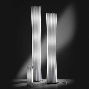 Furniture fashion40 modern floor lamps designs and pictures for Modern white floor lamp uk