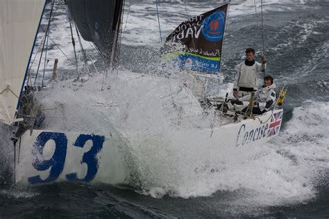 concise 2 takes the lead in the 2010 transat jacques vabre team concise