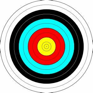 Archery Target Clip Art at Clker.com - vector clip art ...