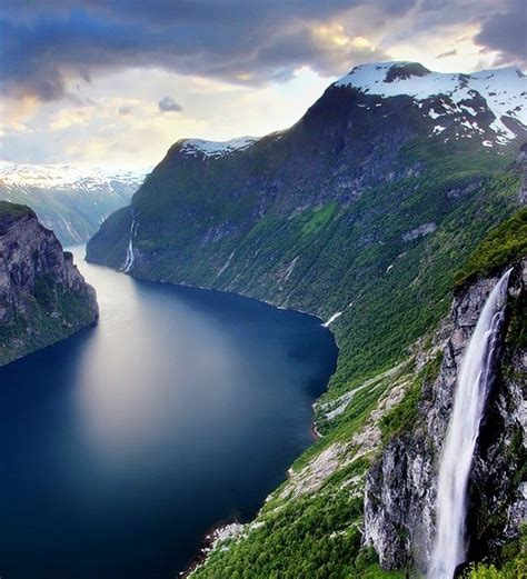 Geirangerfjord Norway map and Fjords Weather Latest Photos ...
