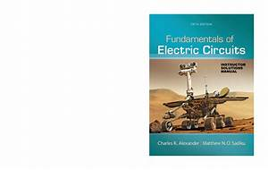 Fundamentals Of Electronic Circuits Solution Manual