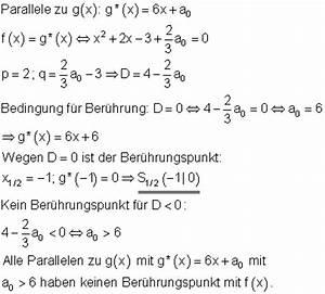 Schnittpunkt Berechnen Parabel Und Gerade : l sungen parabel und gerade ii ~ Themetempest.com Abrechnung