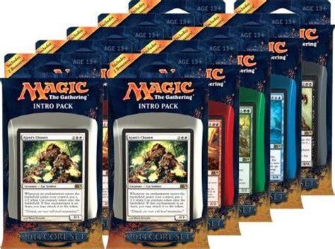 Magic The Gathering Preconstructed Decks 2014 by Magic 2014 M14 Intro Pack Box Of 10 Decks Mtg Magic