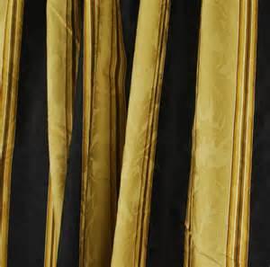 black gold stripe drapery fabric capulet stripe velvet
