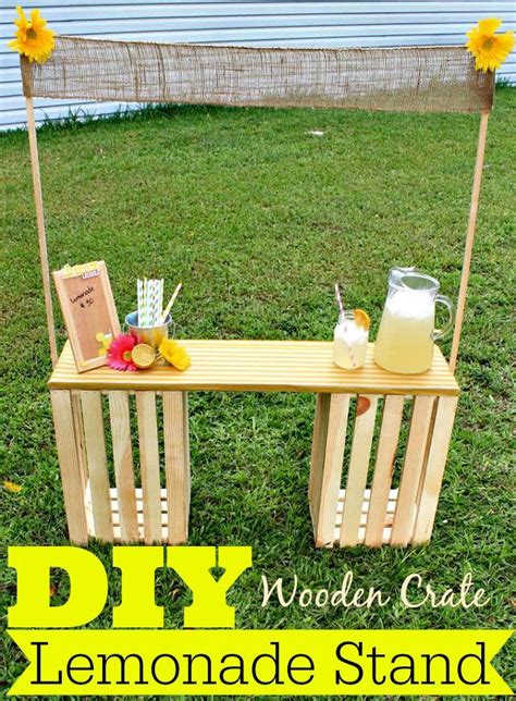 summer projects kids lemonade stands diy