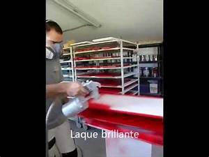 Comment Laquer Un Meuble : video laque rouge par ateliercbl youtube ~ Dailycaller-alerts.com Idées de Décoration
