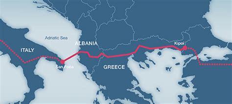 Trans Adriatic Pipeline (TAP), Italy, Greece ...