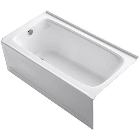 Acrylic Bathtub by Kohler Bancroft 5 Ft Acrylic Left Drain Rectangular