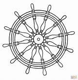 Wheel Coloring Ship Ships Pirate Pages Printable Drawings Template Designlooter Sea Boats sketch template