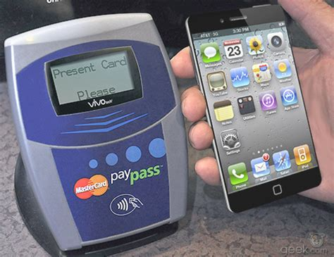 iphone nfc iphone 5 to include mastercard paypass for nfc