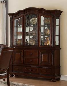 Lordsburg, 5473, Hutch, In, Brown, Cherry, By, Homelegance