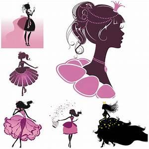Cartoon princess vector | Vector Graphics Blog