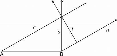 Parallel Perpendicular Lines Intersecting Geometry Math Worksheet